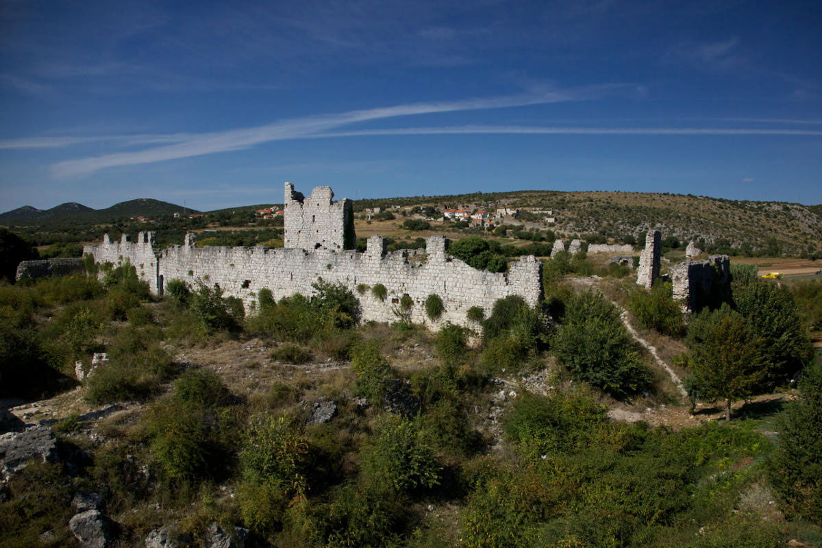 Stari grad Vrana (Gradina)